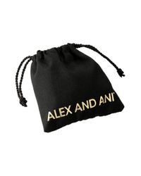 ALEX AND ANI - Metallic Charity By Design - The Way Home Expandable Charm Bangle Bracelet - Lyst