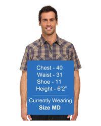 ECŌTHS - Multicolor Weston Short Sleeve Shirt for Men - Lyst