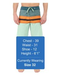 "Hurley - Multicolor Phantom Density 21"" Boardshorts for Men - Lyst"