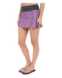 Stonewear Designs - Purple Crush Skort - Lyst
