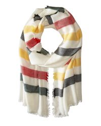 Pendleton | Multicolor Stripe Featherweight Wool Scarf | Lyst