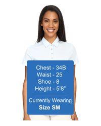 Adidas Originals - Blue Essentials Heather Short Sleeve Polo - Lyst