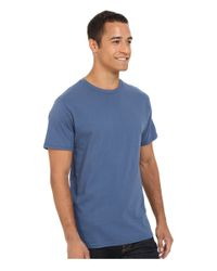 Billabong - Blue Essential Tailored Tee for Men - Lyst