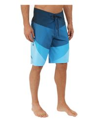 "Billabong - Blue Fluid X 21"" Boardshorts for Men - Lyst"