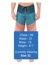 "Billabong - Multicolor Fluid X 21"" Boardshorts for Men - Lyst"