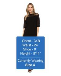 Love Moschino   Black Short Dress   Lyst