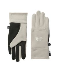 The North Face - Gray Etip Gloves - Lyst