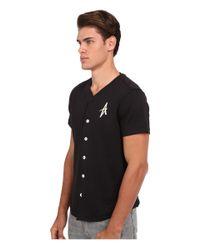 Altamont - Black Grossmont Jersey for Men - Lyst