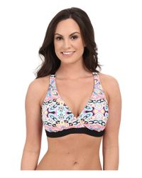 Next By Athena - White Wellness Retreat 28 Minute Molded Soft Cup Sport Bra (d-cup) - Lyst