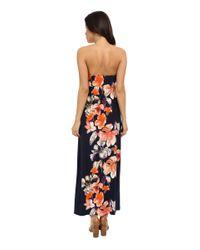 Tommy Bahama - Black Le Grande Fleur Strapless Dress - Lyst