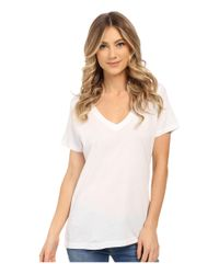 Hurley | White Staple Perfect V Tee | Lyst