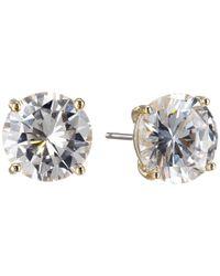 Cole Haan | Metallic Logo Gallery Set Stud Earrings | Lyst