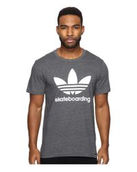 Adidas Originals | Gray Clima 3.0 Tee for Men | Lyst
