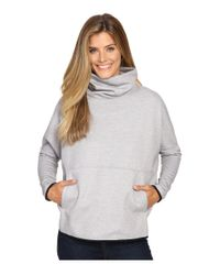 The North Face | Gray Slacker Poncho | Lyst