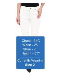 Liverpool Jeans Company - Penny Lightweight Ankle Jeans In Bright White - Lyst