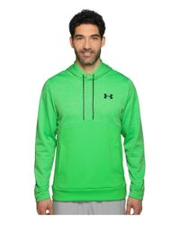 Under Armour Green Storm Armour Fleece Icon Twist Hoodie for men