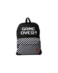 Vans - Black Nintendo Backpack for Men - Lyst