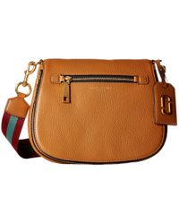 Marc Jacobs | Brown Gotham Saddle Bag | Lyst
