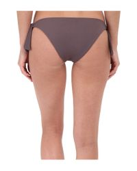 L*Space - Gray Haven Seamless Tie Sides Classic Bottom - Lyst
