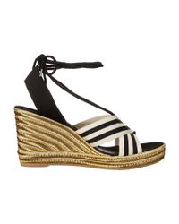 Marc Jacobs - White Dani Wedge Espadrille - Lyst