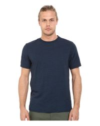 Threads For Thought | Blue Baseline Tri-blend Crew Tee for Men | Lyst