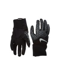 Nike | Black Printed Dri-fit Tempo 360 Run Gloves | Lyst