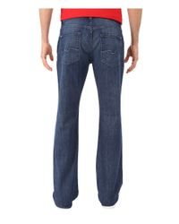 7 For All Mankind | Blue Brett In Crestview Point for Men | Lyst