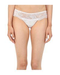 La Perla | White Begonia Thong | Lyst