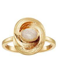 Cole Haan - Metallic Stone Organic Ring - Lyst