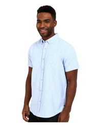 Tavik - Blue Uncle Short Sleeve Woven for Men - Lyst