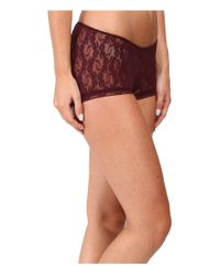 Only Hearts - Multicolor Stretch Lace Ruched Back Hipster - Lyst