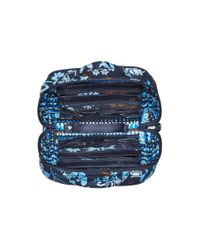 Vera Bradley - Blue Travel Jewelry Organizer - Lyst
