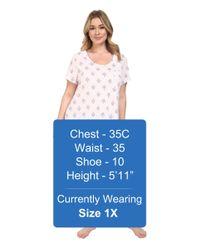 Carole Hochman - Multicolor Plus Size Key Item Sleepshirt - Lyst