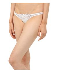 L'Agent by Agent Provocateur | White Viviana Thong | Lyst
