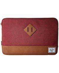 Herschel Supply Co. | Red Heritage Sleeve For 12inch Macbook | Lyst