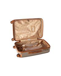 Hartmann - Natural Herringbone Luxe Hardside - Carry-on Spinner for Men - Lyst