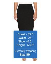 ONLY | Gray Mojo Slim Calf Skirt | Lyst