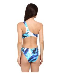 Jets by Jessika Allen - Blue Charade One Shoulder One-piece Swimsuit - Lyst