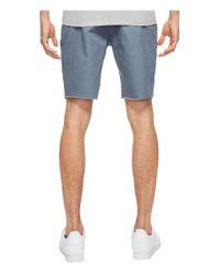 Brixton Blue Toil Ii Shorts for men