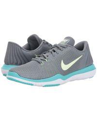 Nike Gray Flex Supreme Tr 5 for men