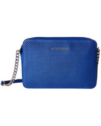 MICHAEL Michael Kors Blue Jet Set Travel Large East/west Crossbody