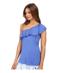 Lilly Pulitzer - Blue Neveah Top - Lyst