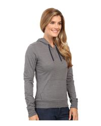 The North Face - Gray Half Dome Hoodie - Lyst