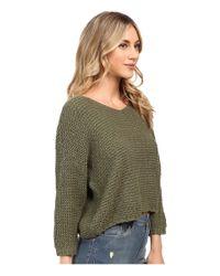 Billabong - Green Way Back When Sweater - Lyst