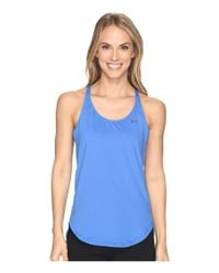 Under Armour - Blue Ua Heatgear® Armour Coolswitch Tank Top - Lyst