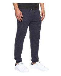 Rip Curl - Blue Surf Check Fleece Pants for Men - Lyst