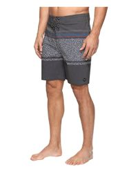 Rip Curl - Black Trimmer Lay Day Boardshorts for Men - Lyst