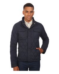 Scotch & Soda Multicolor Light Padded Quilted Jacket In Peached Nylon Quality for men