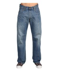 Levi's Blue Levi's(r) Mens 569(r) Loose Straight Fit (dark Chipped) Men's Jeans for men
