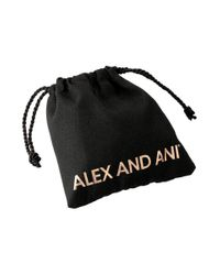 ALEX AND ANI - Metallic Wish Wrap Mulberry - Lyst
